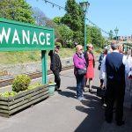 Carers' day out on Swanage Railway