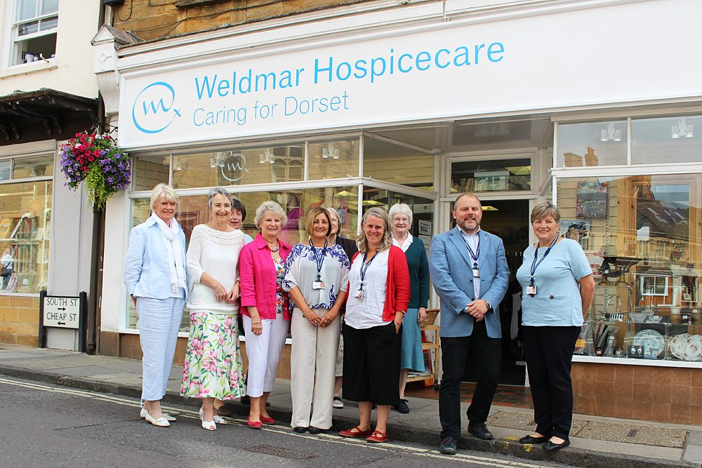 Weldmar's Sherbore Charity Shop celebrates its 20th anniversary