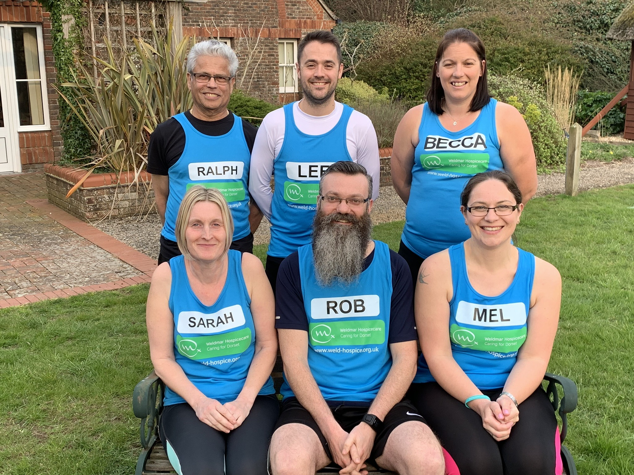 running the london marathon for weldmar hospicare