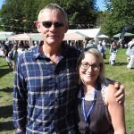 Weldmar Summer Fete 2019. Martin Clunes with Claire Ash.
