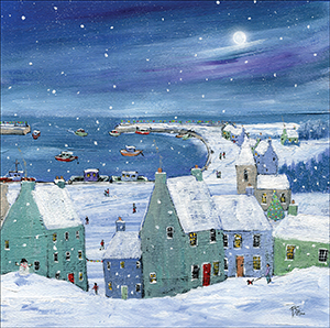 Christmas Harbour cards