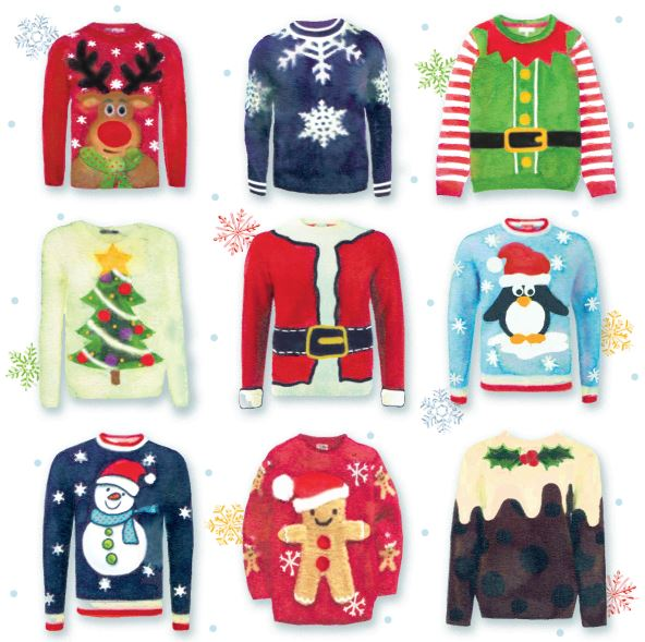 Christmas Jumpers cards