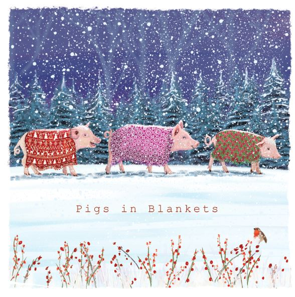 Pigs in Blankets cards