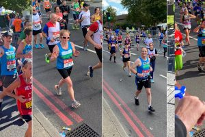 Well done to our London Marathon runners – and would you like to run for Weldmar next year?